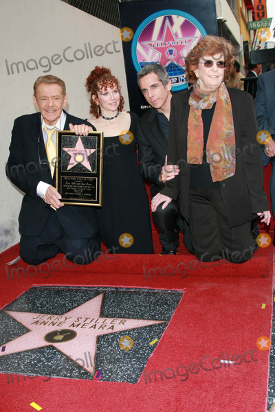 Amy Stiller, Anne Meara, Ben Stiller, Jerry Stiller, Ann Meara, The Ceremonies Photo - Jerry Stiller and Anne Meara with Ben Stiller and Amy Stiller