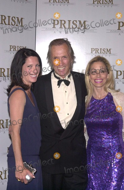 Annie Bierman, David Carradine, Vicki Roberts Photo - Annie Bierman, David Carradine and Vicky Roberts at the The 6th Annual Prism Awards, CBS Television City, 05-09-02