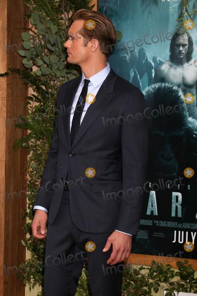 """Alexander Skarsgard, Alexander Skarsgard- Photo - Alexander Skarsgard at the """"The Legend Of Tarzan"""" Premiere, Dolby Theater, Hollywood, CA 06-27-16"""