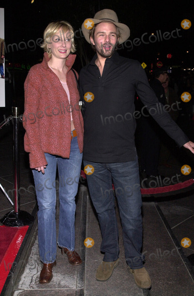 "Anne Heche, Coley Laffoon, Ann Heche Photo - Anne Heche and Coley Laffoon at the premiere of ""Snatch"" at the Directors Guild of America, Hollywood, 01-18-01"