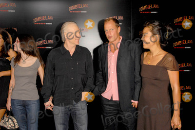 Bill Maher, Woody Harrelson, Grauman's Chinese Theatre Photo - Bill Maher with Woody Harrelson and his wife Lauraat the Los Angeles Premiere of 'Zombieland'. Grauman's Chinese Theatre, Hollywood, CA. 09-23-09