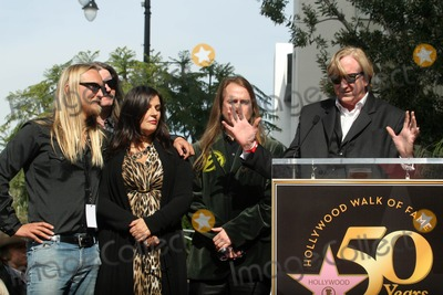 Alex Orbison, Barbara Orbison, Roy Orbison, T Bone Burnett, T-Bone Burnett Photo - Barbara Orbison, Wesley Orbison, Alex Orbison, Roy Orbison Jr., T-Bone Burnett at the induction ceremony for Roy Orbison  into the Hollywood Walk of Fame, Hollywood, CA. 01-29-10