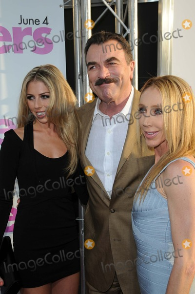 Jillie Mack, The Killers, Tom Selleck Photo - Tom Selleck and Jillie Mack and Daughter Hannah Margaret Mack Selleck