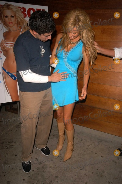 Photos And Pictures Jason Biggs And Nikki Ziering At The Release Party For Nikki Zierings July 2003 Playboy Cover The Nacional Hollywood Ca