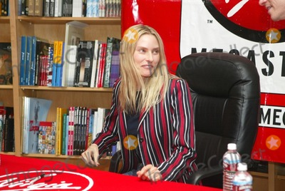 """Aimee Mann, The Virgins Photo - Aimee Mann at CD signing for her CD """"Lost In Space"""" at The Virgin Megastore, West Hollywood, CA 08-27-02"""