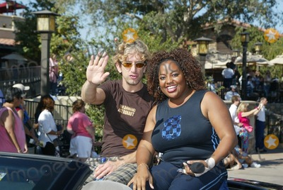 Andy Dick, Sherri Shepherd Photo - Andy Dick and Sherri Shepherd at the first day of the ABC Primetime Preview Weekend at Disney's California Adventure, Anaheim, CA, 08-24-02