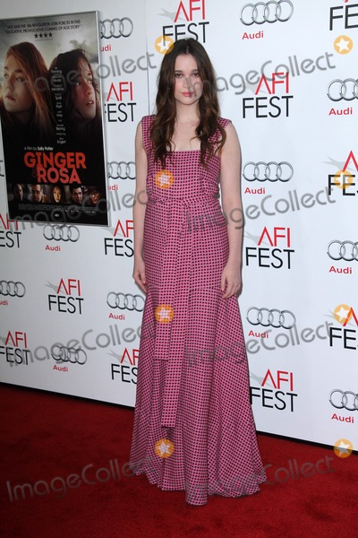 """Alice Englert Photo - Alice Englert at the """"Ginger And Rosa"""" Special Screening AFI FEST 2012, Chinese Theater, Hollywood, CA 11-07-12"""