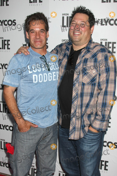 Adrian Pasdar, Greg Grunberg Photo - Adrian Pasdar, Greg Grunberg at the LA Launch Of LYCOS Life at the Banned From TV Jam Space, North Hollywood, CA 06-08-15