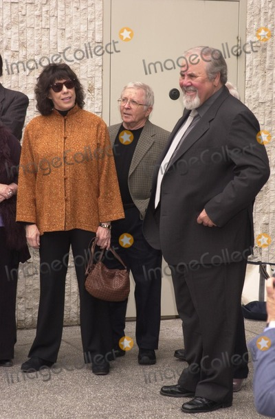 Lily Tomlin, Arte Johnson, George Schlatter Photo - Lily Tomlin, Arte Johnson and George Schlatter at the Walk of Fame ceremony for Rowan and Martin, Hollywood Blvd., 04-02-02