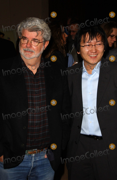 George Lucas, Masi Oka, (+44), +44 Photo - George Lucas and Masi Okaat the 44th Annual ICG Publicists Awards. Beverly Hilton Hotel, Beverly Hills, CA. 02-07-07