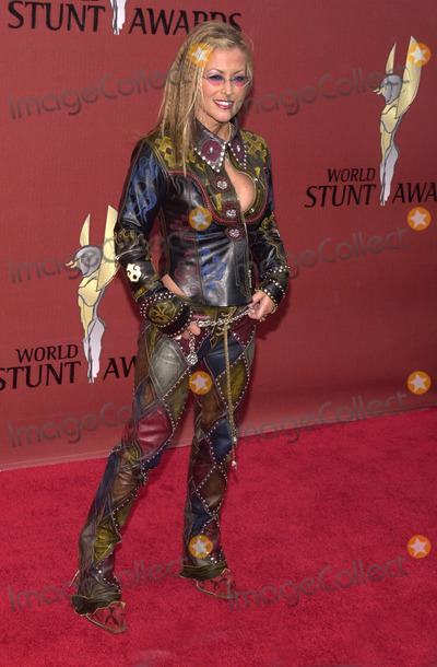 Anastasia Photo -  Anastasia at the inaugural World Stunt Awards, Barker Hanger, Santa Monica, 05-21-01