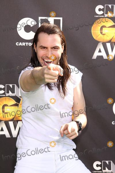 "Andrew W. K., Andrew W.K., ANDREW WK Photo - Andrew W.K. at Cartoon Network's first ever ""Hall Of Game Awards,"" Barker Hanger, Santa Monica, CA. 02-21-11"