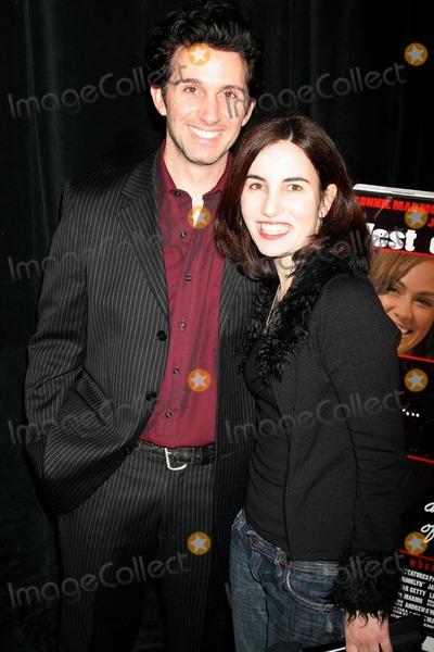 Ronnie Marmo, Vida Ghaffari Photo - Ronnie Marmo and Vida Ghaffari at the world premiere of 'West Of Brooklyn'. Theater 68, Los Angeles, CA. 02-19-08