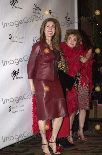 Rita Wilson, Annie Potts Photo -  Rita Wilson and Annie Potts at the opening of The Vagina Monologues, benefitting V-Day, Wiltern Theater, 02-16-00