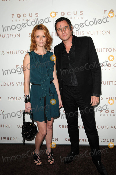 """Audrey Marnay Photo - Audrey Marnay and Stephen Emeret at the Premiere Of Focus Features' """"Somewhere,"""" Arclight Theater, Hollywod, CA. 12-07-10"""
