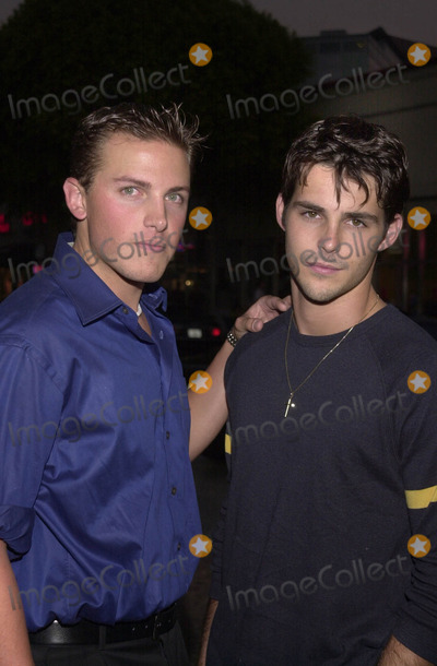 """Jason Cook Photo -  AARON VAN WAGNER AND JASON COOK at the premiere of Warner Brother's """"Summer Catch"""" at Mann's Village Theater, Westwood, 08-22-01"""