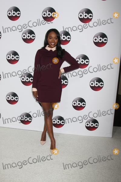 Photo - Aja Naomi King at the Disney ABC TV 2016 TCA Party, The Langham Huntington Hotel, Pasadena, CA 01-09-16