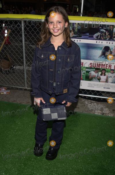 "Mackenzie Rosman Photo -  MACKENZIE ROSMAN at the premiere of Warner Brother's ""Summer Catch"" at Mann's Village Theater, Westwood, 08-22-01"