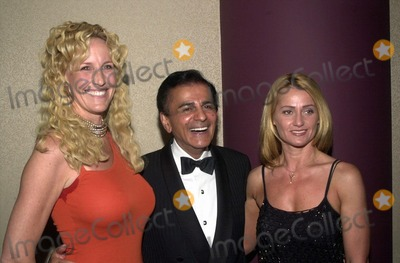 Erin Brockovich-Ellis, Casey Kasem, Nadia Comaneci Photo -  Erin Brockovich-Ellis, Casey Kasem and Nadia Comaneci at the Night Under The Stars Dinner-Dance to raise money for MS. Beverly Hills, 04-29-00