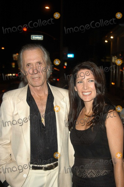 David Carradine, Annie Bierman, Oasis Photo - David Carradine and Annie Bierman at the Grand Opening of Oasis Restaurant, Los Angeles, CA 09-10-03