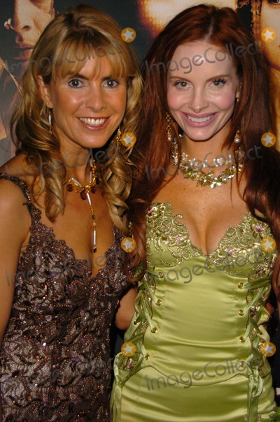 """Julia Verdin, Phoebe Price, Cult Photo - Julia Verdin and Phoebe Price at the wrap party for the film """"Cult,"""" White Lotus, Hollywood, CA 02-22-05"""