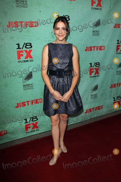 """Abby Miller Photo - Abby Miller at the Premiere Screening of FX's """"Justified,"""" Paramount Studios, Los Angeles, CA 01-05-13"""