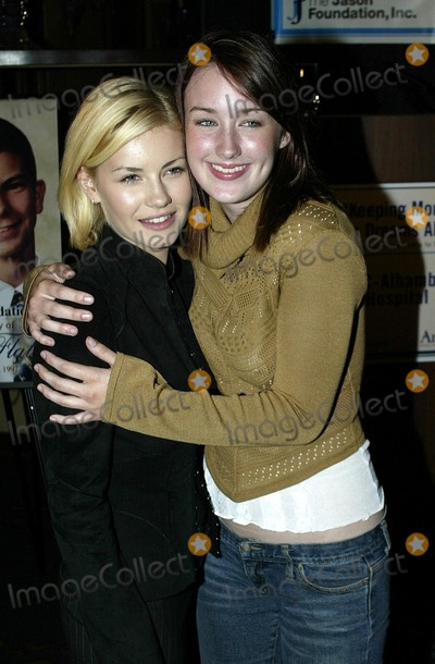 Elisha Cuthbert, Ashley Johnson Photo - Elisha Cuthbert and Ashley Johnson at the press conference and reception to kick off the Jason Foundation's Teen Suicide prevention campaign, at Spago, Beverly Hills, CA 09-18-02