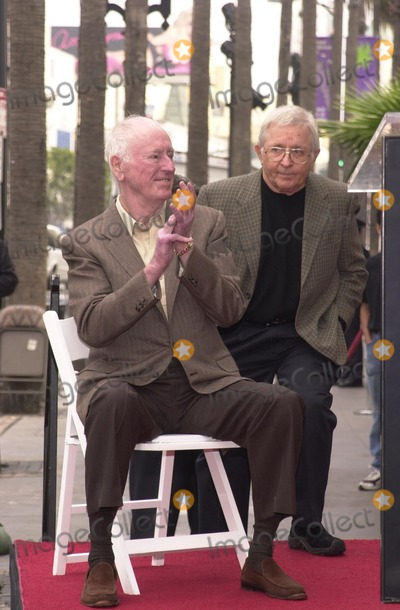 Dick Martin, Arte Johnson Photo - Dick Martin and Arte Johnson at the Walk of Fame ceremony for Rowan and Martin, Hollywood Blvd., 04-02-02