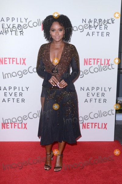 """Antoinette Robertson Photo - Antoinette Robertson at the """"Nappily Ever After"""" Special Screening, Harmony Gold Theater, Los Angeles, CA 09-20-18 Copyright DailyCeleb.com.  All Rights Reserved."""