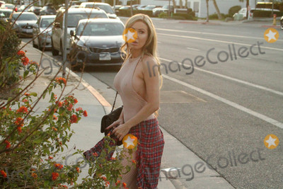 Ana Ivanoviæ Photo - Ana Braga the Brazilian Playmate is spotted in a see-thru bodysuit, jaywalking across the street in Los Angeles, CA 09-10-18