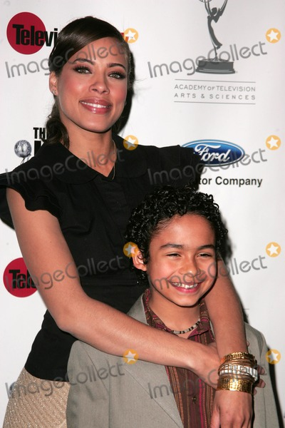 """Noah Gray Cabey, Noah Gray-Cabey, Tawny Cypress, Tawni Photo - Tawny Cypress and Noah Gray-Cabeyat the NAACP Hollywood bureau's 3rd Annual Symposium """"Who's Running the Show? - A Case Study in Diversity"""". The Leonard Goldenson Theater, North Hollywood, CA. 02-28-07."""