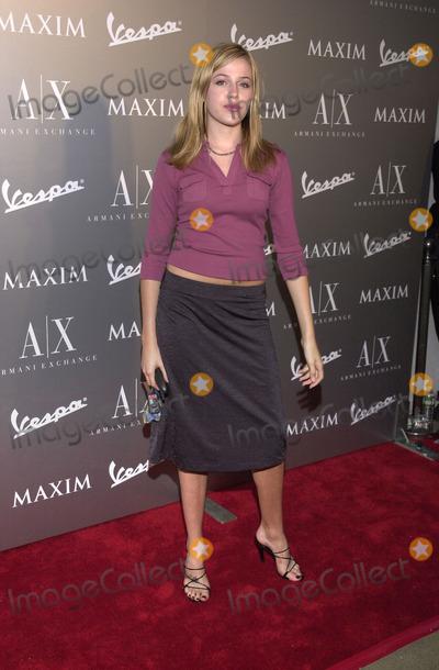 Majandra Delfino Photo -  MAJANDRA DELFINO at the Armani Santa Monica's 10th Anniversary Party, Santa Monica Promenade,  08-23-01