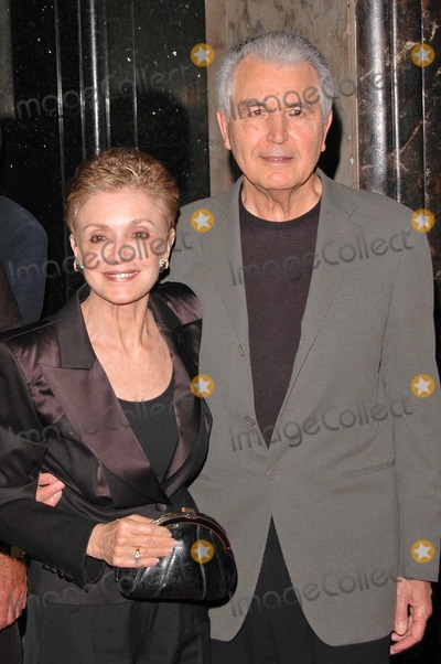"""Anna Maria Alberghetti, Anna Maria Perez de Taglé Photo - Anna Maria Alberghetti and husband at the Gala Opening for National Tour of """"Movin' Out"""" at the Pantages Theatre, Hollywood, CA. 09-17-04"""