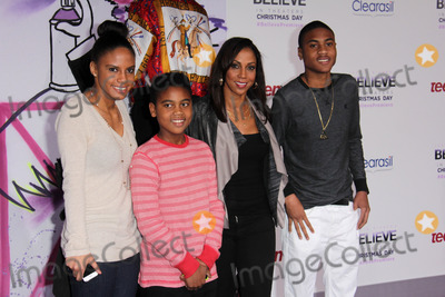 """Hollies, Holly Robinson Peete, Holly Robinson-Peete, Justin Bieber, Holly Robinson-Peet, Holly Robinson, Robinson Peete Photo - Holly Robinson Peete and children at the """"Justin Bieber's Believe"""" Premiere, Regal Cinemas, Los Angeles, CA 12-18-13"""