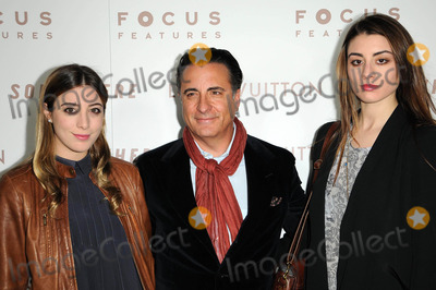 """Andy Garcia, Dominik Garcia, Dominik Garcia Lorido, Dominik Garcia-Lorido Photo - Andy Garcia and Daughters Dominik Garcia-Lorido and Alessandra Garcia-Lorido at the Premiere Of Focus Features' """"Somewhere,"""" Arclight Theater, Hollywod, CA. 12-07-10"""