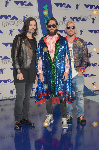 30 Seconds to Mars Photo - 30 Seconds to Mars at the 2017 MTV Video Music Awards, The Forum, Inglewood, CA 08-27-17