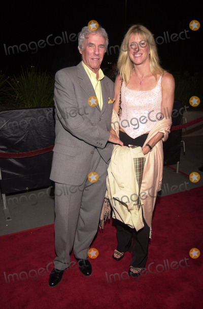 Burt Bacharach, Jane Hanson, Hanson Photo -  Burt Bacharach and wife Jane Hanson at the arrivals for the Streisand concert at the Staples Center. 09-20-00