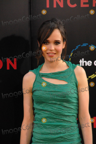 """Ellen Page Photo - Ellen Page at the """"Inception"""" Los Angeles Premiere, Chinee Theater, Hollywood, CA. 07-13-10"""