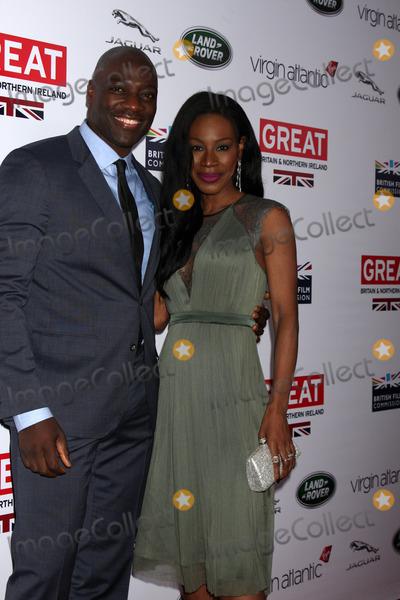 Adewale Akinnuoye-Agbaje, Amma Assante Photo - Adewale Akinnuoye-Agbaje, Amma Assante at the 2014 GREAT British Oscar Reception, British Residence, Los Angeles, CA 02-28-14