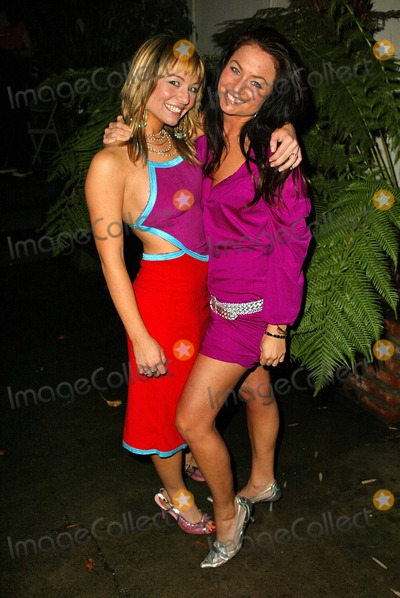 """Anise Labrum, Lindsey Labrum, E G Daily, E. G. Daily, E.G. Daily, JLS, EG Daily, Teairra Marí Photo - Anise Labrum and sister Lindsey Labrum wearing J.L. Marks At the """"Listen Closely"""" World Premiere starring E.G. Daily, Benefits Last Chance for Animals, The Court Theatre, Los Angeles, CA 02-18-05"""
