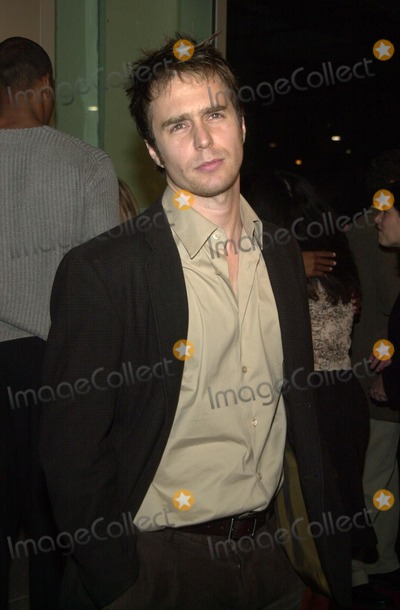 """Sam Rockwell Photo - Sam Rockwell at the premiere of the Warner Bros. film """"Welcome To Collinwood"""" at the Cinerama Dome, Hollywood, CA 09-30-02"""