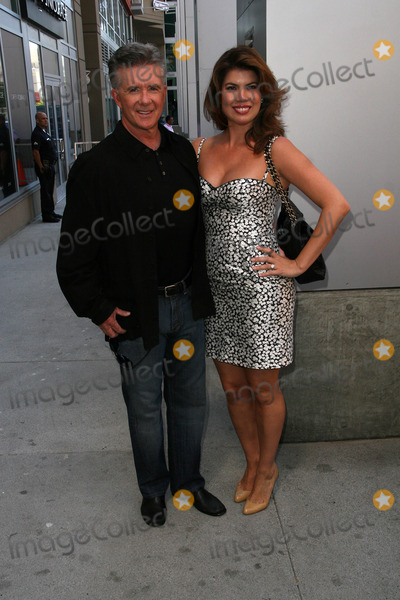 Alan Thicke, Bill Maher Photo - Alan Thicke and wife Tanya