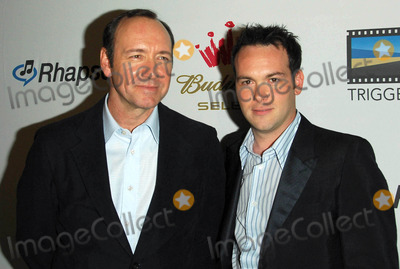 Kevin Spacey, Dana Brunetti Photo - Kevin Spacey and Dana Brunettiat the new Triggerstreet.com Launch Party. Social Hollywood, Hollywood, CA. 06-15-06