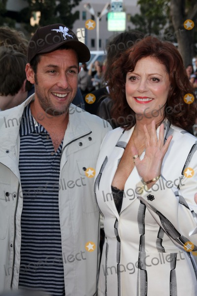 Susan Sarandon, Adam Sandler Photo - Adam Sandler and Susan Sarandon