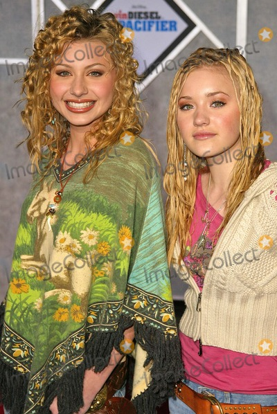 """Aly and AJ, Walt Disney, Aly & AJ, ALY, AJ, Ali Farka Touré Photo - Aly and AJ at the premiere of Walt Disney's """"The Pacifier"""" at the El Capitan Theater, Hollywood, CA 03-01-05"""