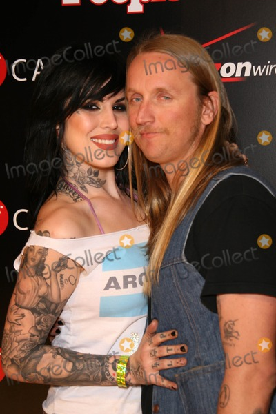 "Alex ""Orbi"" Orbison, Alex ""Orbi"" Orbison, Alex Orbi Orbison, Kat Von D, Orbi Orbison, ""Orbi"" Orbison, Timbaland Photo - Kat Von D and Alex 'Orbi' Orbison