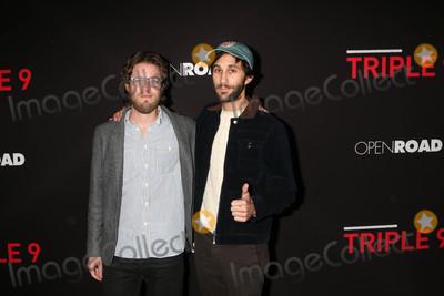 """Henry Joost, Ariel Schulman Photo - Henry Joost, Ariel Schulman at the """"Triple 9"""" Premiere, Regal 14 Theaters, Los Angeles, CA 02-16-16"""
