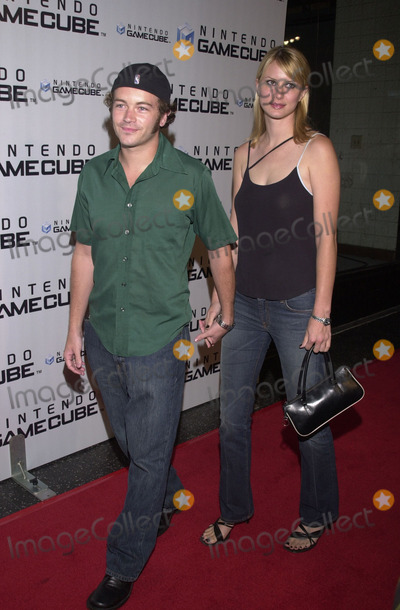 Danny Masterson Photo -  Danny Masterson and date at the launch party for the new Nintendo Game Cube system, sponsored by MTV, in Hollywood, 10-03-01