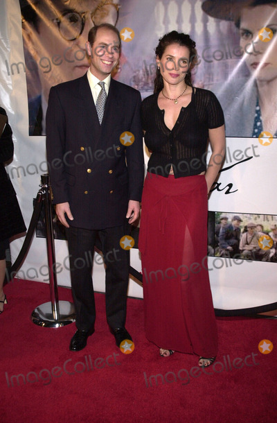 """Prince Edward, Julia Ormond, Prince, Prince Edwards Photo -  Prince Edward and Julia Ormond at the telefilm premiere for Showtime's """"Varian's War"""" at the Los Angeles County Museum of Art's Leo S. Bing Theater, Los Angeles, 04-19-01"""