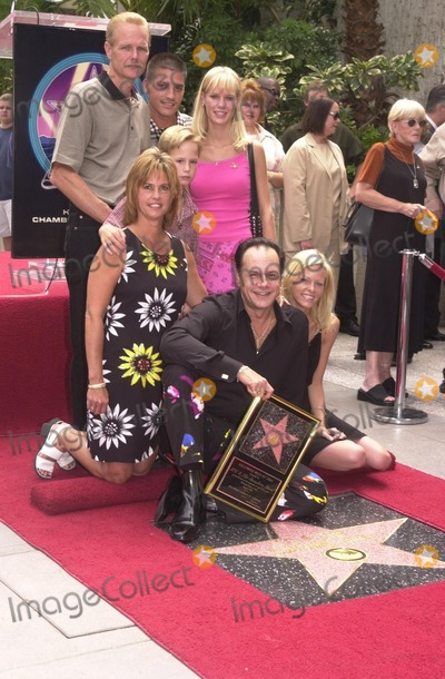 "KC, KC and the Sunshine Band Photo - Karry Wayne ""KC"" Casey and Famliy at KC and The Sunshine Band induction ceremony into Hollywood's Walk of Fame, Hollywood Blvd, CA 08-02-02"
